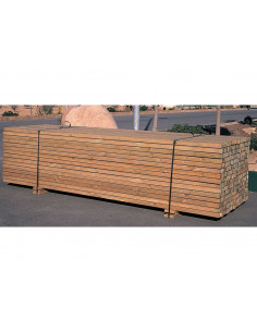 CATRAL Liteau bois 4,5 x 4,5 x 300 cm