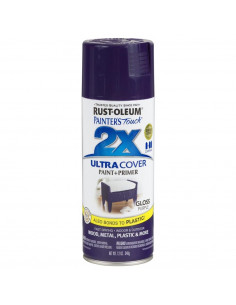 Aérosol primer+paint purple brillant 12oz
