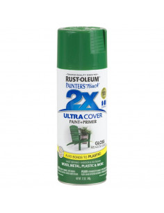 Aérosol primer+paint meadow vert brillant 12oz
