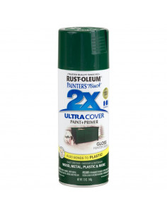 Aérosol primer+paint hunter vert brillant 12oz