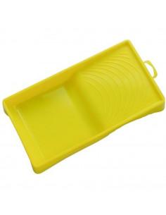 Bac a peinture jaune 0.5L pour rouleau et mini rouleau jusqu'à 120mm