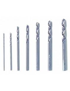 DREMEL Jeu de 7 forets bois, plastique et métal non ferreux - 0,8 à 3,2 mm