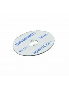 DREMEL 12 Disques EZ speedclic métaux 38 mm