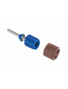 DREMEL Bandes de ponçage SpeedClic avec mandrin de serrage