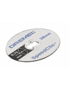 DREMEL 5 Disques EZ speedclic métaux 38 mm épaisseur 0.75mm