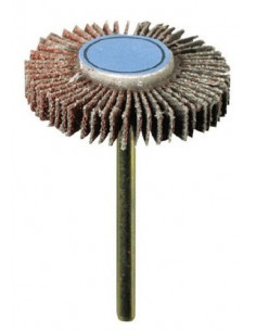 DREMEL Roue à lamelles 28 mm Grain 80 épaisseur 4.8mm