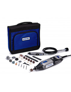 DREMEL 4000-1/45 Outil rotatif multi-usage (175W) 1 sac 1 adaptation et 45 accessoires EZ SpeedClic inclus