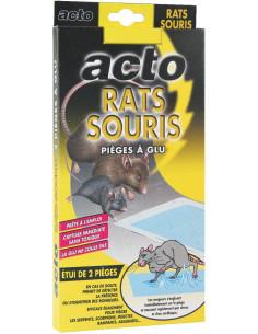 FEROX Pièges à glu rats et souris