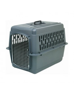 Cage de transport animaux m gris