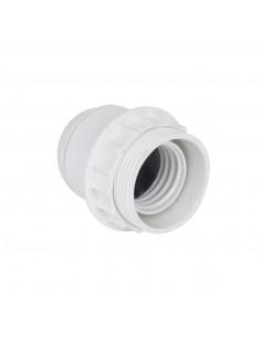 DEBFLEX Douille bakélite 1/2 filetée E27 Blanc