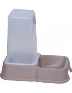 Distributeur de croquettes 1,5l gris
