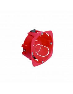 DEBFLEX Boîte d'encastrement cloison sèche D67/P30 Rouge