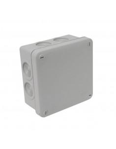Debflex Boîte de dérivation IP55 à membrane 100 x 100/P55 Gris