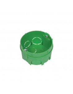 Debflex Boîte d'encastrement de maçonnerie D65/P40 Vert
