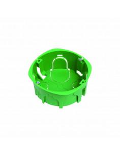 Debflex Boîte d'encastrement de maçonnerie D85/P40 Vert