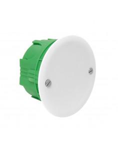 Debflex Boîte d'encastrement de maçonnerie avec couvercle D65/P40 Vert
