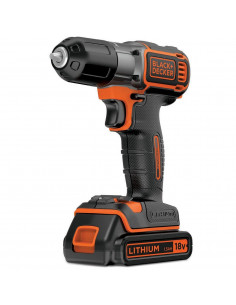 BLACK & DECKER ASD18KB Perceuse sans fil autosense