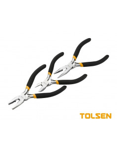 TOLSEN Set 3 pinces 4.5'' 115mm