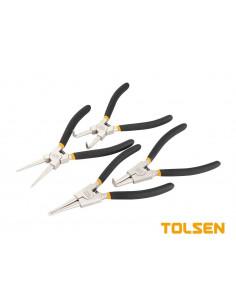 TOLSEN Set pinces circlips 7'' 180mm