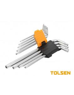 TOLSEN Clé torx 9pcs