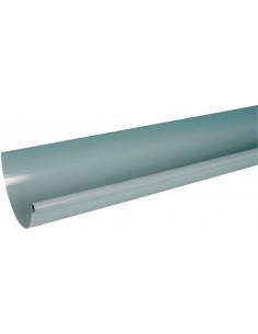 Gouttière 33 profilée grise 4m LG33 (NICOLL)