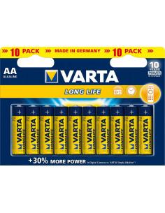 VARTA Pile Long Life AA LR6 x10