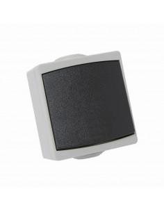 Debflex Perle va et vient gris IP65