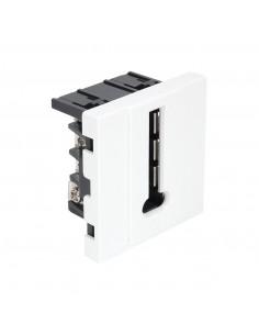 DEBFLEX Casual Mécanisme téléphone Blanc brillant