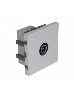 DEBFLEX Casual mecanisme prise TV silver