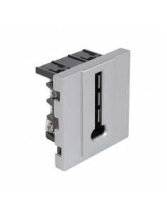 DEBFLEX Casual mecanisme prise téléphone silver