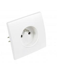 Debflex Perfect Prise 2P+T Blanc