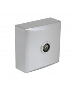 Debflex Emeraude Prise TV Aluminium