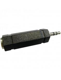 OMENEX Adaptateur stéréo jack 3,5mm mâle / 6,35mm femelle