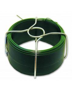 CHAPUIS Fil acier plastifié d1,4 mm l30 m Vert