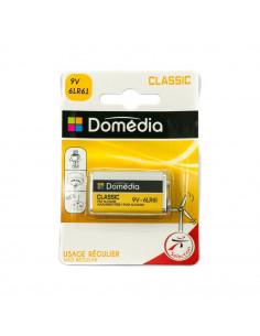 DOMEDIA Pile alcaline classic 9V 6LR61