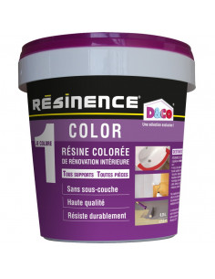 RESINENCE Color Résine colorée rénovation blanc 500ml