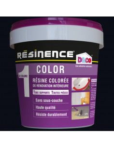 RESINENCE COLOR Résine colorée rénovation noir 250ml
