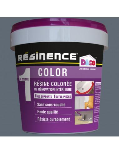 RESINENCE Color Résine Colorée Rénovation Gris étain 500ml