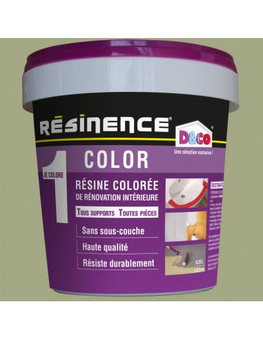 Resinence Color Résine Colorée Rénovation Kaki 250ml Hyper Brico