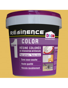 RESINENCE Color Résine colorée rénovation safran 500ml