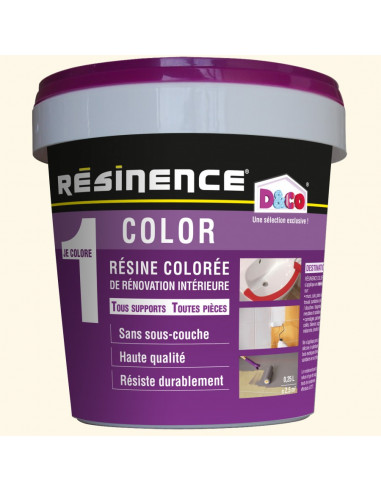 Resinence Color Resine Coloree Renovation Blanc Casse 250ml