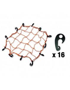 CHAPUIS Filet élastique arrimage 16 crochets polyamide L1.2-2m 5mm