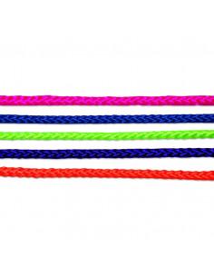 CHAPUIS Corde polypropylène/polyester tressée coloris assortis L20m d4mm
