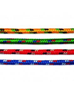 CHAPUIS Corde polypropylène/polyester tressée coloris assortis L7.5m d9mm