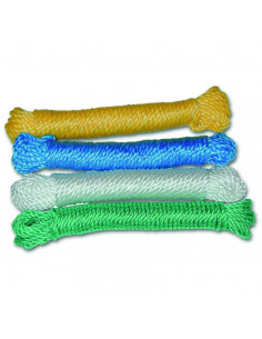 CHAPUIS Corde polypropylène torsadée coloris assortis L10m d4mm