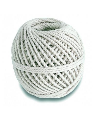 CHAPUIS Cordeau coton câblé 20kg d2.5mm L30m