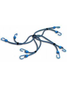 CHAPUIS Araignée 8 bras + Crochet acier plastifié d8mm