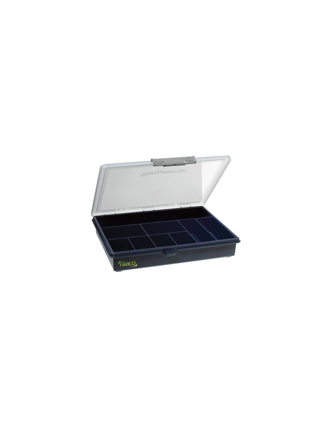 Raaco boite rangement casier a9 hyper brico - Casier rangement visserie ...
