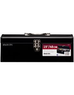 STACK-ON Caisse à outils métal noire 19'' 48cm