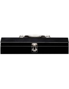 """STACK-ON Caisse à outils métal noire 15"""" 38cm"""